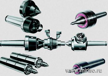 Станочная оснастка, токарные патроны и вращающиеся центра от компании Мир ISO